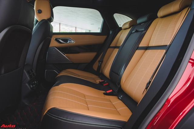 Soi kĩ Range Rover Velar màu đỏ đầu tiên của Việt Nam - Ảnh 19.