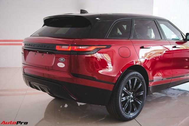 Soi kĩ Range Rover Velar màu đỏ đầu tiên của Việt Nam - Ảnh 4.