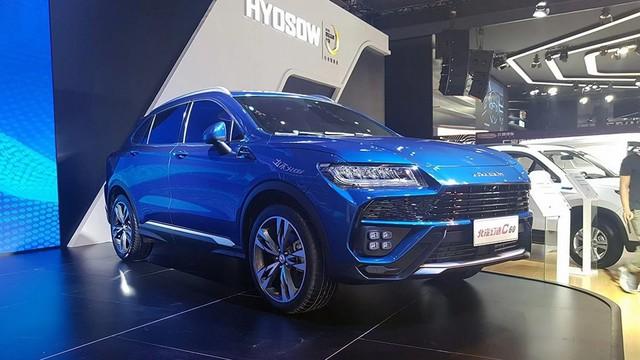 Xe Trung Quốc nhái Lamborghini Urus chính thức ra mắt