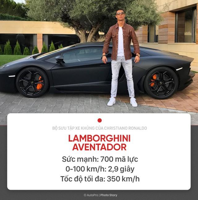 [Photo Story] Người hùng World Cup Cristiano Ronaldo đang sở hữu những xe khủng nào? - Ảnh 2.