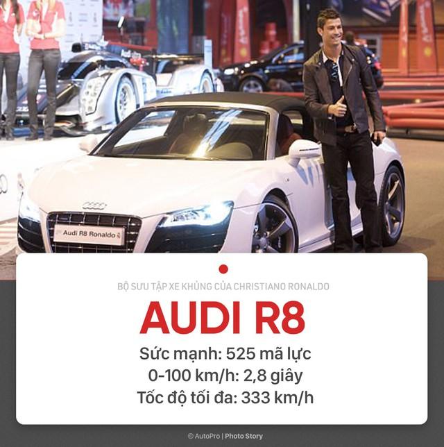 [Photo Story] Người hùng World Cup Cristiano Ronaldo đang sở hữu những xe khủng nào? - Ảnh 5.