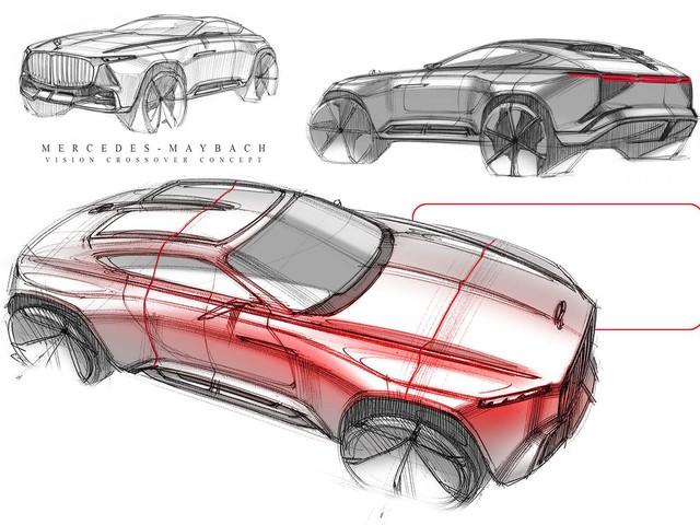 Sẽ thế nào nếu Maybach học theo Audi, BMW làm SUV lai coupe? - Ảnh 3.