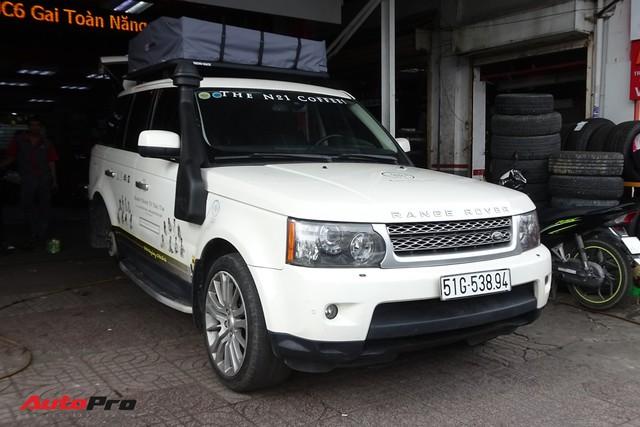 Bộ 3 Range Rover Sport Supercharged của ông chủ Trung Nguyên được chăm sóc trước hành trình siêu xe đình đám - Ảnh 3.