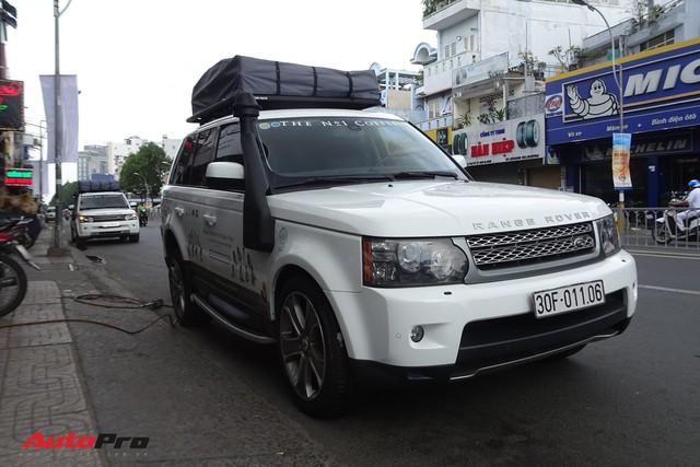 Bộ 3 Range Rover Sport Supercharged của ông chủ Trung Nguyên được chăm sóc trước hành trình siêu xe đình đám - Ảnh 2.