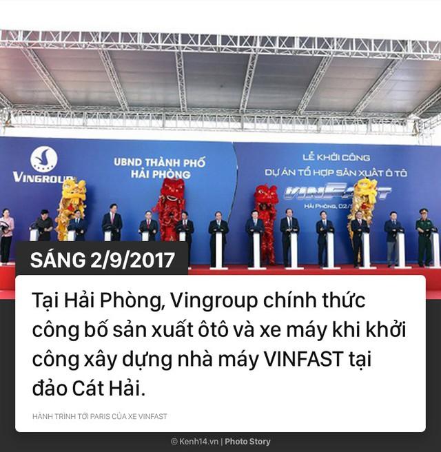 Hành trình tới Paris của xe VINFAST - Niềm hy vọng của xe hơi Việt - Ảnh 1.