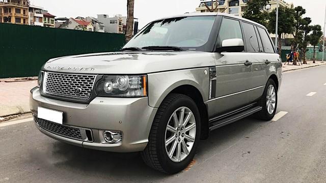 Range Rover Supercharged có giá chưa tới 2 tỷ đồng sau 4 vạn km - Ảnh 1.