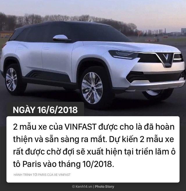 Hành trình tới Paris của xe VINFAST - Niềm hy vọng của xe hơi Việt - Ảnh 9.