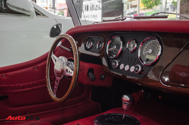 Khám phá Morgan Plus 4 - Xe Anh Quốc cho đại gia Việt thích đồ cổ - Ảnh 12.