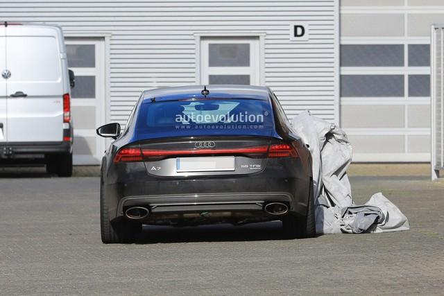 Audi mang RS7 Sportback 2019 mới tới Nurburgring chạy thử - Ảnh 5.