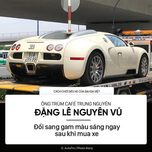 Những phong cách chơi xe khủng khác người của đại gia Việt - Ảnh 3.