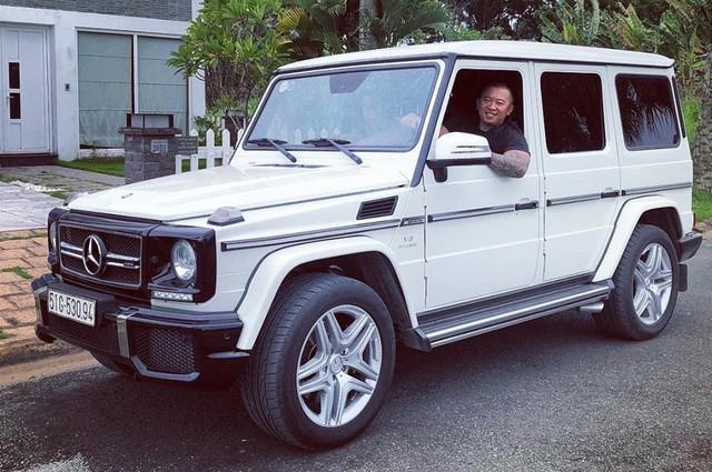 Mercedes-Benz G63 AMG của ông chủ cà phê Trung Nguyên được độ đồ dã ngoại chuyên dụng trị giá cả trăm triệu đồng - Ảnh 1.