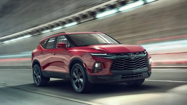 Chevrolet chính thức hồi sinh Blazer – nguyên bản của Trailblazer