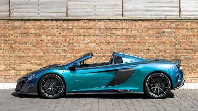 Lớp sơn trên chiếc siêu xe McLaren này còn đắt hơn cả xe Honda - Ảnh 2.