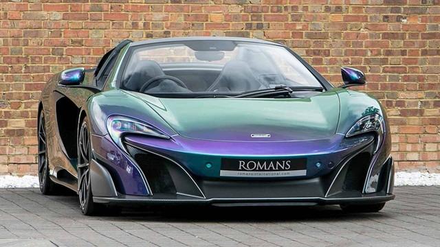 Lớp sơn trên chiếc siêu xe McLaren này còn đắt hơn cả xe Honda - Ảnh 1.
