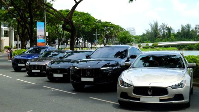 Offline kiểu đại gia: Mang dàn xe sang Maserati đi thưởng trà tại Sài Gòn - Ảnh 8.