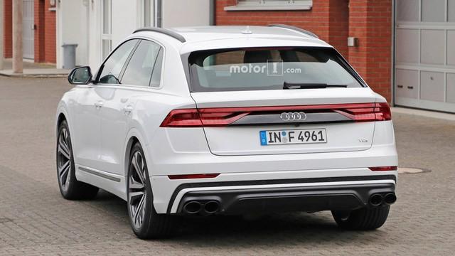 Audi SQ8 trắng không tì vết, nhìn như đã hoàn chỉnh lộ diện ngoài đường - Ảnh 5.