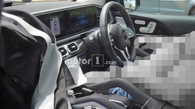 Lộ diện nội thất Mercedes-Benz GLE 2019