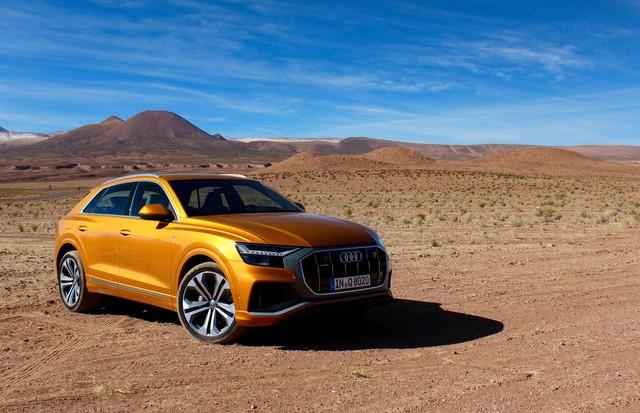 Không chịu thua BMW X7 hay Mercedes-Benz GLS, Audi Q9 sẽ ra mắt ngay năm nay, hé lộ thêm cả Audi TT 4 cửa lần đầu tiên xuất hiện - Ảnh 1.