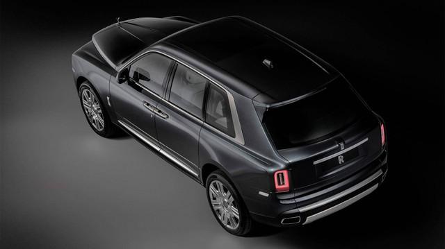 Rolls-Royce không hứng thú với SUV mới ngoài Cullinan