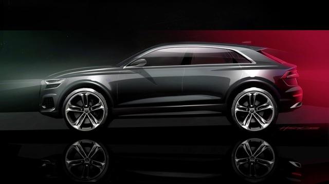 Không chịu thua BMW X7 hay Mercedes-Benz GLS, Audi Q9 sẽ ra mắt ngay năm nay, hé lộ thêm cả Audi TT 4 cửa lần đầu tiên xuất hiện
