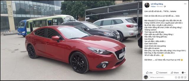 """Đức vừa rời World Cup, Hồng Đăng """"Người phán xử"""" thanh lý ngay Mazda3 trong đêm để đổi xe khác - Ảnh 1."""