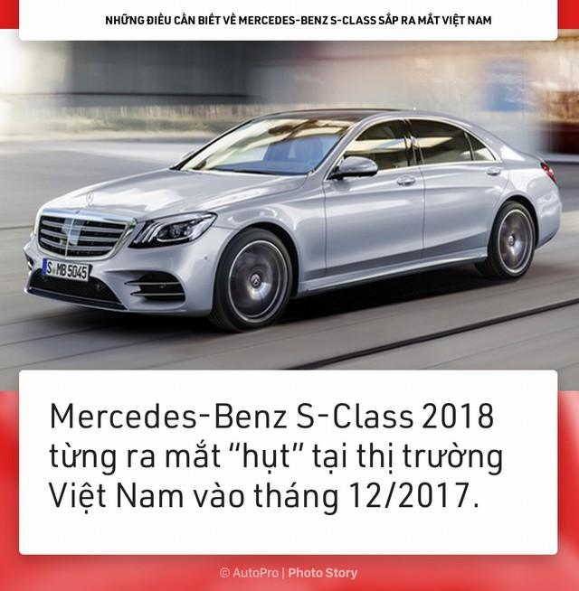 [Photo Story] Những điều cần biết về Mercedes-Benz S-Class sắp ra mắt Việt Nam - Ảnh 1.