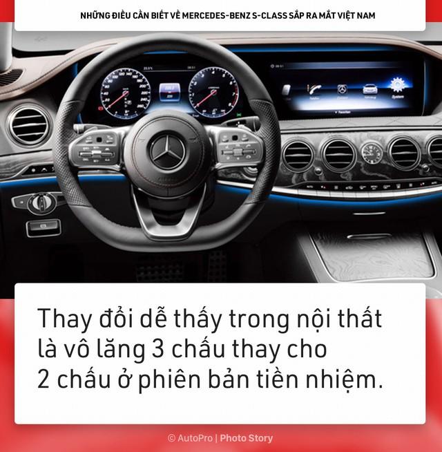 [Photo Story] Những điều cần biết về Mercedes-Benz S-Class sắp ra mắt Việt Nam - Ảnh 7.