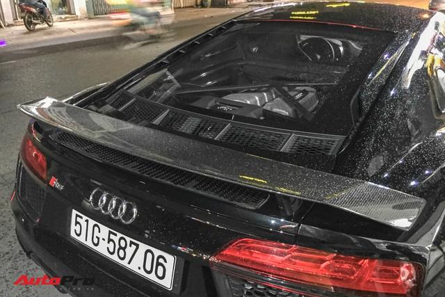 Audi R8 V10 Plus từng của ông chủ cafe Trung Nguyên sang tay đại gia Bạc Liêu - Ảnh 9.