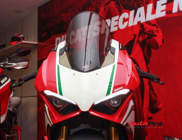 (4h) Chi tiết Ducati Panigale V4 Speciale giá ngang xe ô tô Mercedes-Benz của Biker Việt - Ảnh 8.