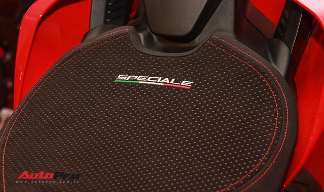 (4h) Chi tiết Ducati Panigale V4 Speciale giá ngang xe ô tô Mercedes-Benz của Biker Việt - Ảnh 14.
