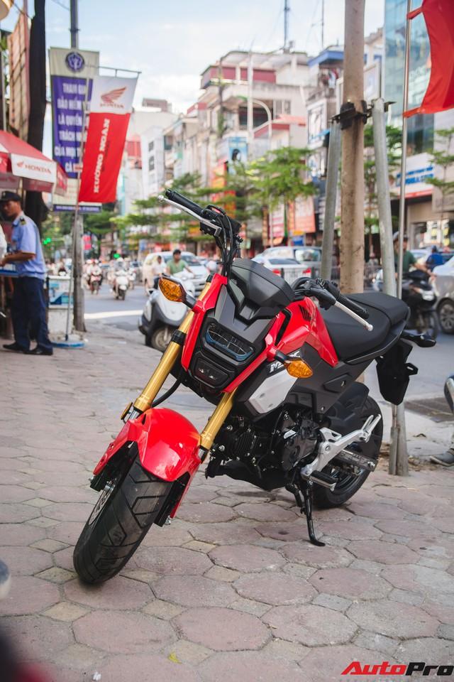 Ảnh thực tế Honda MSX 125 màu mới tại đại lý - Ảnh 6.