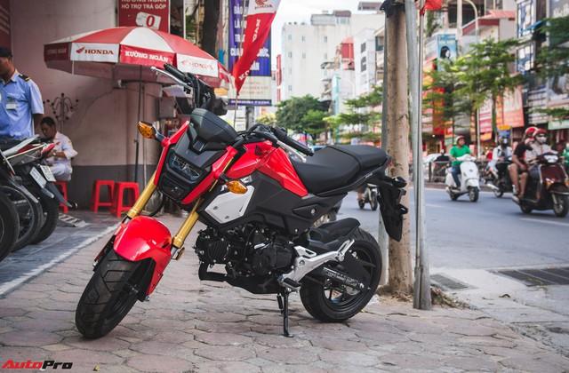 Ảnh thực tế Honda MSX 125 màu mới tại đại lý - Ảnh 2.