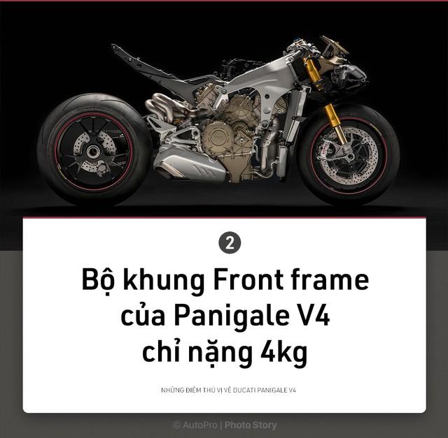 [Photo Story] 9 điều thú vị về Ducati Panigale V4 - Ảnh 2.
