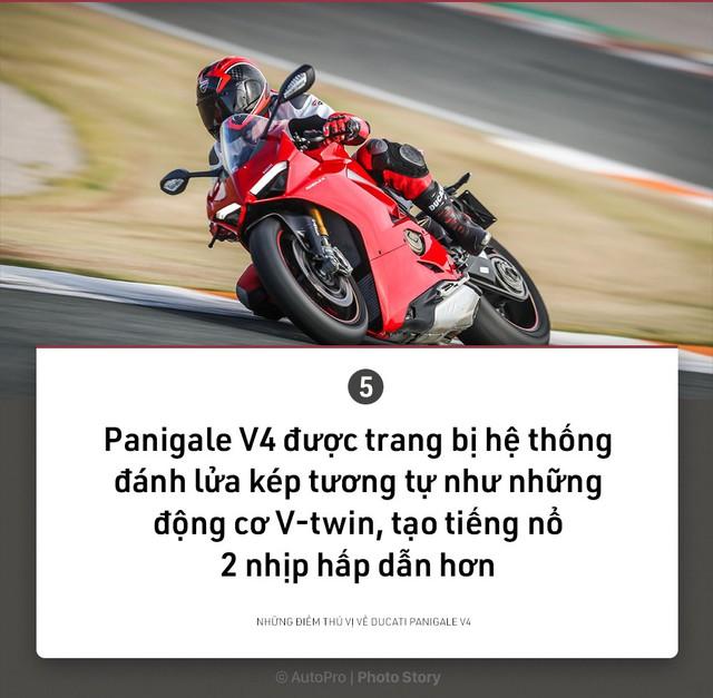 [Photo Story] 9 điều thú vị về Ducati Panigale V4 - Ảnh 5.