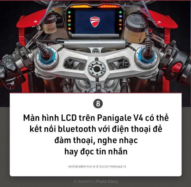 [Photo Story] 9 điều thú vị về Ducati Panigale V4 - Ảnh 8.