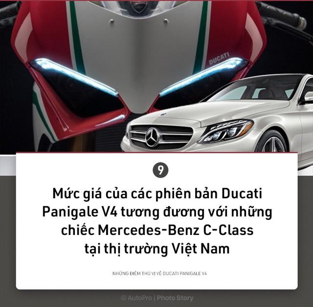 [Photo Story] 9 điều thú vị về Ducati Panigale V4 - Ảnh 9.