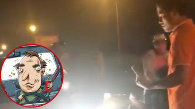 Gặp tài xế ô tô say xỉn suýt đâm vào mình và hai con nhỏ, cách hành xử của người cha khiến cư dân mạng nể phục