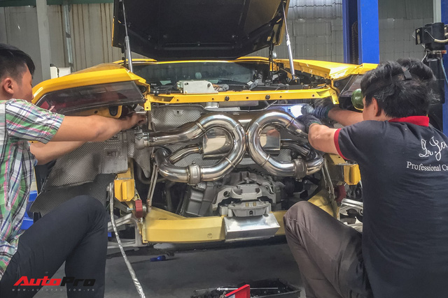Lamborghini Huracan độ Mansory từng của Cường Đô-la đổi pô FI trị giá ngang một chiếc Kia Morning van - Ảnh 6.