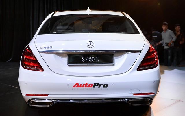 Cảm nhận nhanh phiên bản rẻ nhất của Mercedes-Benz S-Class 2018 tại Việt Nam - Ảnh 14.