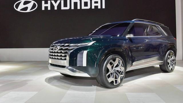 Hyundai giới thiệu SUV 7 chỗ lớn hơn Santa Fe, cạnh tranh Toyota Prado - Ảnh 1.
