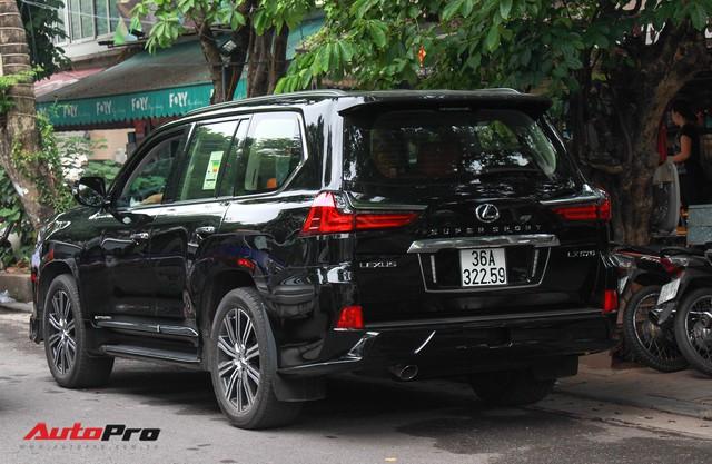 Lexus LX570 Super Sport 2018 trị giá gần 11 tỷ đồng của đại gia Thanh Hóa - Ảnh 2.