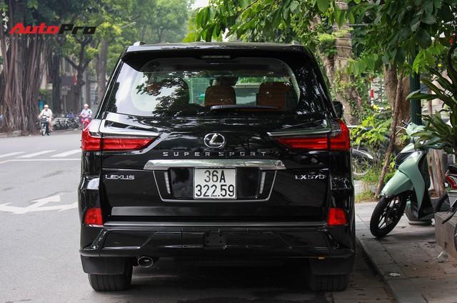 Lexus LX570 Super Sport 2018 trị giá gần 11 tỷ đồng của đại gia Thanh Hóa - Ảnh 4.