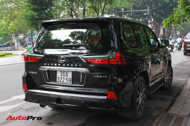 Lexus LX570 Super Sport 2018 trị giá gần 11 tỷ đồng của đại gia Thanh Hóa - Ảnh 6.