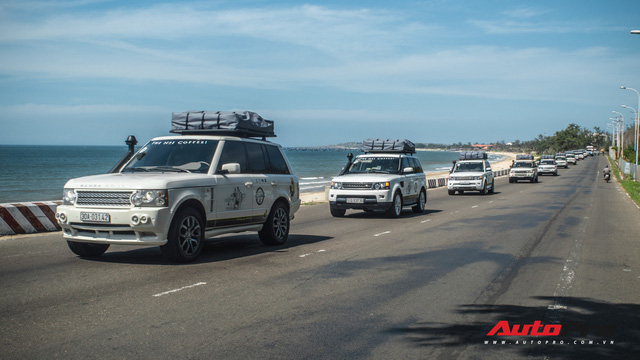 Dàn Range Rover của ông chủ cafe Trung Nguyên trổ tài offroad tại Bàu Trắng trong hành trình xuyên Việt - Ảnh 16.