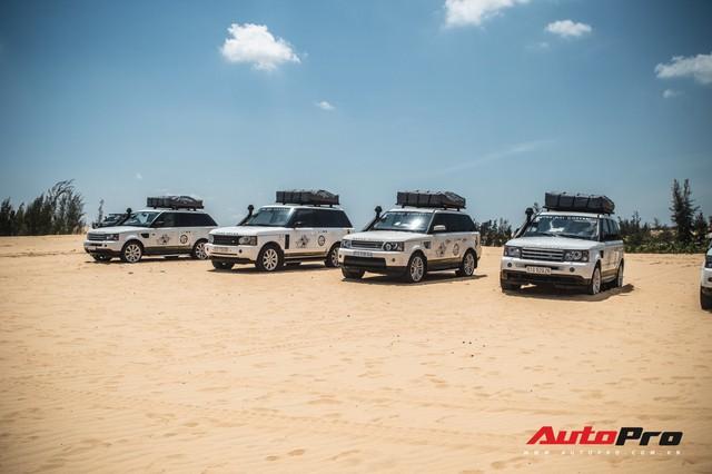 Dàn Range Rover của ông chủ cafe Trung Nguyên trổ tài offroad tại Bàu Trắng trong hành trình xuyên Việt - Ảnh 10.