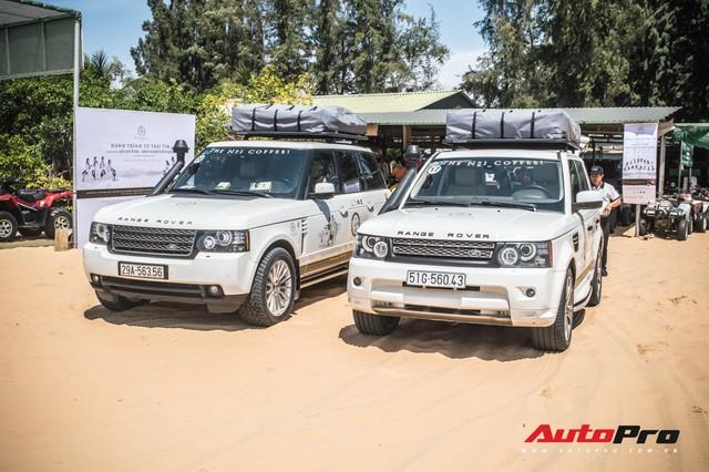 Dàn Range Rover của ông chủ cafe Trung Nguyên trổ tài offroad tại Bàu Trắng trong hành trình xuyên Việt - Ảnh 8.