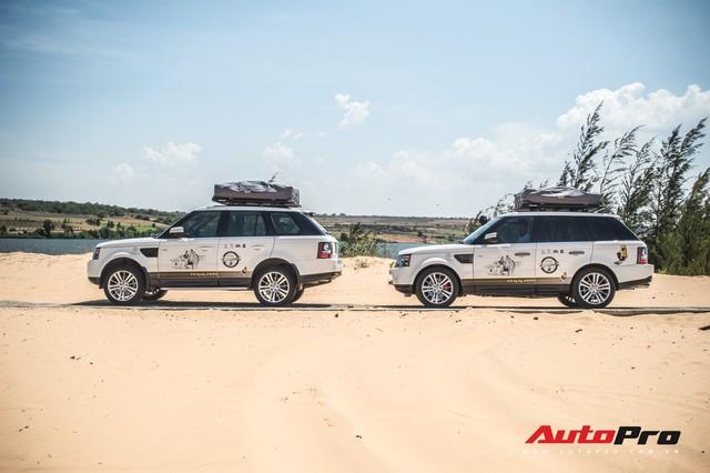 Dàn Range Rover của ông chủ cafe Trung Nguyên trổ tài offroad tại Bàu Trắng trong hành trình xuyên Việt - Ảnh 6.