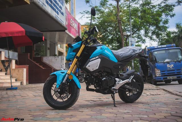 Ảnh thực tế Honda MSX 125 màu mới tại đại lý - Ảnh 1.