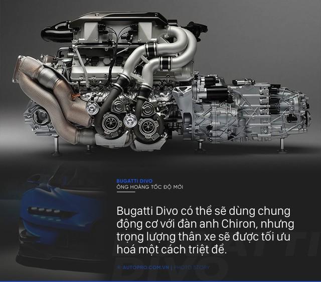 [Photo Story] 8 điều đặc biệt về Bugatti Divo - Ông hoàng tốc độ mới đắt gấp rưỡi Chiron - Ảnh 3.