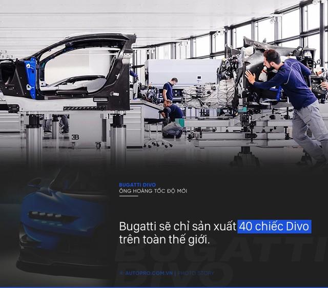 [Photo Story] 8 điều đặc biệt về Bugatti Divo - Ông hoàng tốc độ mới đắt gấp rưỡi Chiron - Ảnh 4.